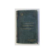 COURS DE GEOMETRIE ELEMENTAIRE par B. NIEWENGLOWSKI et L. GERARD , 1898 , PREZINTA HALOURI DE APA *