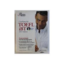 CRAKING THE TOEFL iBT - 2011 EDITION by DOUGLAS PIERCE and SEAN KINSELL , 2011 . LIPSA CD*