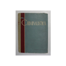 CRIMINALISTICA-S.A. GOLUNSKI  1961