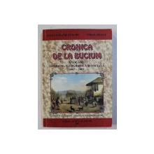 CRONICA DE LA BUCIUM , EVOCARE ISTORICO - GEOGRAFICA SI SOCIALA ( 1467 - 2003 ) de IOAN COSTACHE ENACHE si VIRGIL ARSENE , 2003