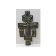 Crucifix din bronz, Rusia, sec. XIX