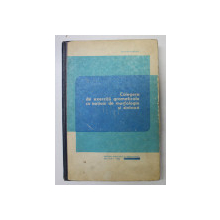 CULEGERE DE EXERCITII  GRAMATICALE CU NOTIUNI DE MORFOLOGIE SI SINTAXA de STEFANIA POPESCU , 1968