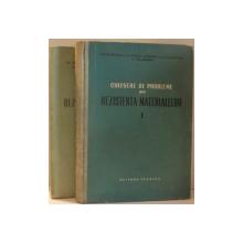 CULEGERE DE PROBLEME DIN REZISTENTA MATERIALELOR VOL I , II de GH. BUZDUGAN , C. MITESCU , S. CALMANOVICI , M. BLUMENFELD , 1955