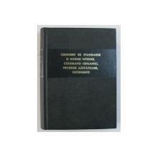 CULEGERE  DE STANDARDE SI NORME INTERNE , COLORANTI ORGANICI , PRODUSE AJUTATOARE , DETERGENTI , 1965