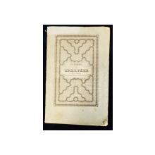 CULEGERE DE TRATATE DINTRE IMPERIUL OTOMAN SI RUSESC de M. KIFALOV - BUCURESTI, 1850