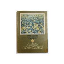 CULTURA FLORII  - SOARELUI de HERA CRISTIAN ,,,TONCEA ION , 1989
