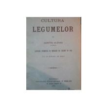 CULTURA LEGUMELOR de DUMITRU ALESSIU ,