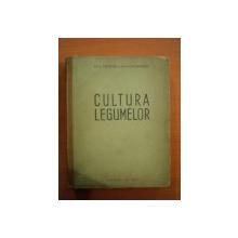 CULTURA LEGUMELOR de TEODOR BORDEIANU , NICOLAE CONSTANTINESCU , 1950 . COTORUL ESTE LIPIT CU SCOCI