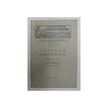 CULTURA PORUMBULUI - CONFERINTA TINUTA de ION  CAMARASESCU LA 27 FEBRAUARIE , 1933