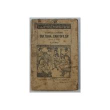 CUM S -A INTINS CULTURA CARTOFILOR de  V . HAREA , 1924