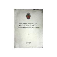 CUM SUNT ORGANIZATE SI CUM FUNCTIONEAZA UZINELE COMUNALE BUCURESTI - 1945