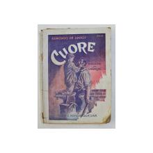 CUORE de EDMONDO DE AMICIS , 227 PAG. , traducere de S. NADEJDE ,  1934