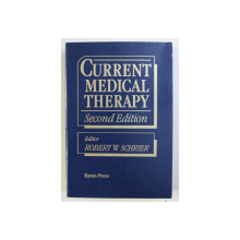 CURRENT MEDICAL THERAPY , editor ROBERT W . SCHRIER , 1989