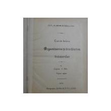 CURS DE ARTILERIE - ORGANISAREA SI TRACTIUNEA TRASURILOR / ORGANISAREA AFETELOR   de CAPITAN C . FELIX , CURS LITOGRAFIAT ,COLEGAT DE DOUA CARTI , 1899