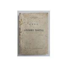 CURS DE ASTRONOMIE TEORETICA de N. COCULESCU , 1929