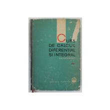 CURS DE CALCUL DIFERENTIAL SI INTEGRAL de G.M. FIHTENHOLT, VOL 2  1964
