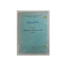 CURS DE CERCETARE OPERATIONALA , PARTEA I de CORNELIU ZIDAROIU , 1978