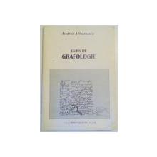 CURS DE GRAFOLOGIE de ANDREI ATHANASIU , 1997