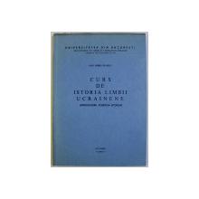 CURS DE ISTORIA LIMBII UCRAINENE - INTRODUCERE , FONETICA , ISTORIE de DAN HORIA MAZILU , 1983