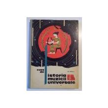 CURS DE ISTORIA MUZICII UNIVERSALE de GH.MERISESCU 1964