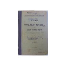 CURS DE TEOLOGIE MORALA SAU LECTIUNI DE  MORALA CRESTINA    -  PENTRU UZUL CLASEI A VII - A  A SEMINARIILOR TEOLOGICE de ARHIMANDRITUL I . SCRIBAN , 1915