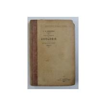 CURS ELEMENTAR DE ZOOLOGIE PENTRU CURSUL SUPERIOR AL SCOALELOR SECUNDARE , PARTEA I de T.A. BADARAU , 1908