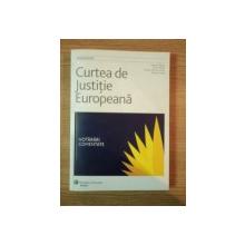 CURTEA DE JUSTITIE EUROPEANA de SERGIU DELEANU , GYULA FABIAN , BOGDAN IONITA