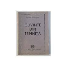 CUVINTE DIN TEMNITA - versuri de GHEORGHE POPESCU - VALCEA , 1991 , DEDICATIE*