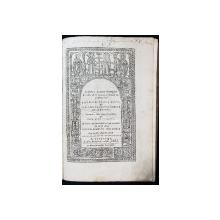 CUVINTE PUTINE OARECARE - BUCURESTI, 1826