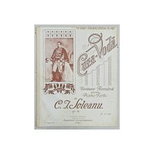 CUZA VODA de C. I. SOLEANU, FANTEZIE ROMANA PENTRU-PIANO FORTE - PARTITURA MUZICALA