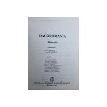 DACOROMANIA - BIBLIOGRAFIE , coordonatori IOAN PATRUT si VASILE BREBAN , 1983
