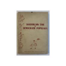 DANSURI DIN TARI DE DEMOCRATIE POPULARA , 1957
