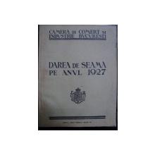 DAREA DE SEAMA PE ANUL 1927
