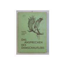 DAS ANSPRECHEN DES DAMSCHAUFLERS von PAUL HANSEN ... KARL LOTZE , 1964