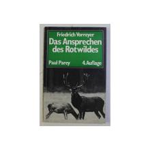 DAS ANSPRECHEN DES ROTWILDES von FRIEDRICH VORREYER , 1976
