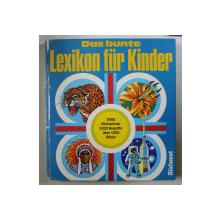 DAS BUNTE LEXIKON FUR KINDER von HERBERT POTHORN , 1978
