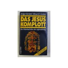 DAS JESUS KOMPLOT von HOLGER KERSTEN und ELMAR R. GRUBER , 1992