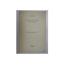 DE L 'ENSEIGNEMENT DU RUSSE DANS NOS HUMANITES par J.P. DERSCHEID , 1968