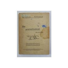 DE PRETUTINDENI - DIN TOATE TARILE de GH. TEODORESCU si M. STATESCU , 1948