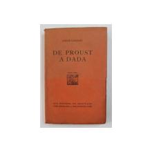 DE PROUST A DADA par ANDRE GERMAIN , 1924