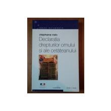 DECLARATIA DREPTURILOR OMULUI SI ALE CETATEANULUI de STEPHANE RIALS  2002