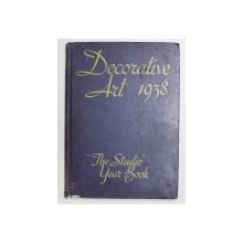 DECORATIVE ART  - THE STUDIO YEAR BOOK , 1938