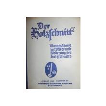 DER HOLZSCHNITT-GRAVURA IN LEMN 1930-1931