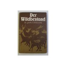 DER WILDBESTAND - DIE GROSE UNBEKANNTE von LUTZ BRIEDERMANN , 1982