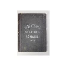 DESBATERILE SENATULUI ROMANIEI SESIUNEA 1864 - 1865 , COLEGAT DE 44 DE FASCICULE,  APARUTA 1865
