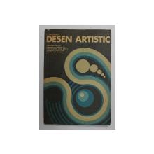 DESEN ARTISTIC de C. RADINSCHI , 1980