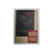 DESENUL TEHNIC de MARIN CONSTANTIN si ENACHE ION , 1963