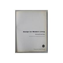 DESIGN FOR MODERN LIVING , by GERD HATJE and URSULA HATJE , 1961