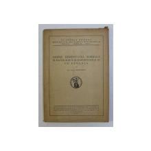 DESPRE HEREDITATEA NORMALA SI PATOLOGICA SI RAPORTURILE EI CU EUGENIA de G. MARINESCU , 1936