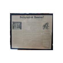 Desteptati-va Romani ! - Afis de propaganda, Perioada Interbelica